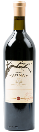 2012 Tannat CM, Bending Branch Estate Vineyard