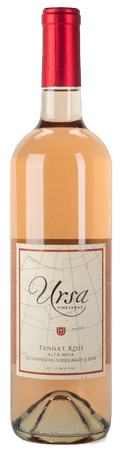 2018 Tannat Rosé, Silvaspoons Vineyards